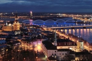 Riga night