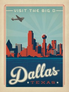 Dallas-Texas-Poster